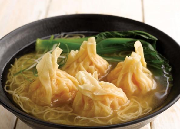 G060 Shrimp Wanton Noodle Soup